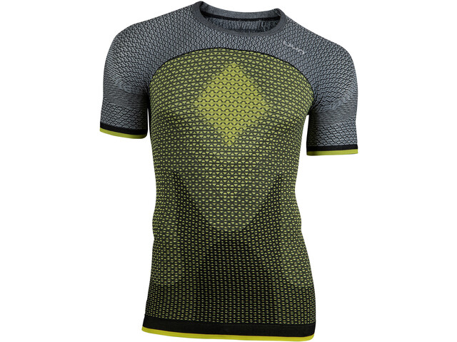 UYN Running Alpha OW Chemise manches courtes Homme, tonic yellow/sleet grey